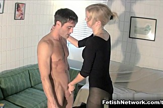 Vanessa Vixon Milks Her Roommate with CBT Fun