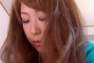 Horny Japanese chick Sae Aihara in Crazy Fingering, Doggy Style JAV video