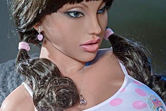 Teen sex doll brunette realistic sex dolls
