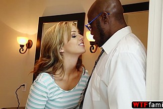Hot and horny stepdaughter gets fucked by her huge cock stepfather