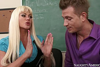 Nikita Von James & Bill Bailey in My First Sex Teacher