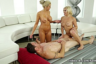 Nina Elle & Cristi Ann & Romeo Price in Promo Shoot - FantasyMassage