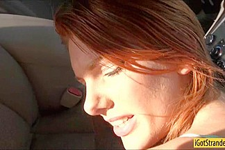Redhead beauty trades her gergeous body for a lift