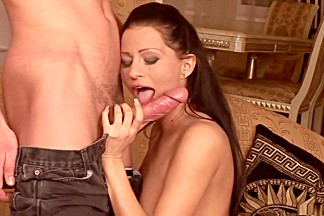 Best pornstar Angelika Black in fabulous facial, lingerie xxx movie