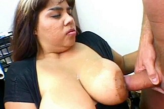 big beautiful woman Nikki Santana office