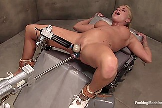 FUCKINGMACHINES ARCHIVE FAVOURITE Sci fi sexual orgasm overload Brooke Belle