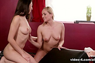 Jayden Cole & Olivia Lua in Sexual Reflexology - AllGirlMassage