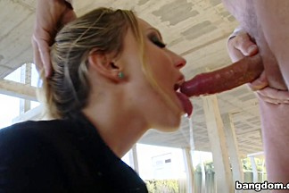 Nataly Von in Russian Beauty gets fucked in public
