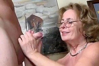 Granny Pretty Soon Receives Fucking More Good !