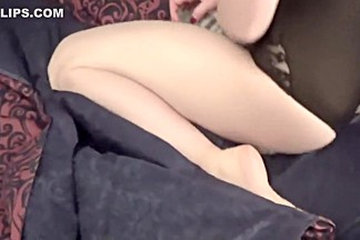 Sexy Teen Pillow Humping Orgasm