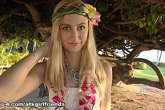 Alexa Grace in Virtual Vacation Movie - AtkGirlfriends