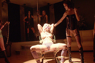 Shana Lane & Vandal Vyxen & Amylee & Ashley Fires & Roxy Lane & Aaliyah Love in Bondage And Domination At The Studio Video