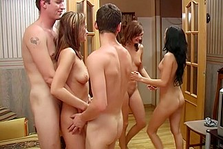 Great students fuckfest with unfathomable face holes