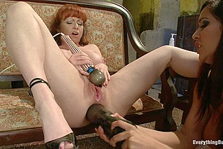 Double Anal Fisting Isis Love and Kylie Ireland