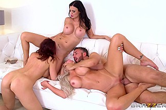Chanel Preston & Jasmine Jae & Nina Elle & Keiran Lee in Keiran Lees 1000th: This Is Your ZZ Life - Brazzers