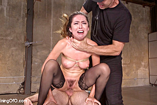 Training a Pain Slut: Busty Melissa Moore's First Submission - TheTrainingofO