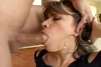 Slut Chokes On Cock And Swallows Jism
