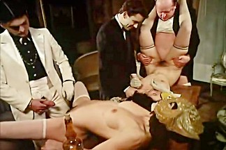 Horny classic movie with Claude Montal and Guy Bonnafoux