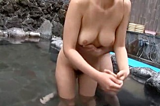 Best Japanese model Haruki Sato in Hottest Showers, Outdoor JAV video