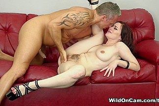 Jessica Ryan & Marcus London in Giving Jessica A Big Hard Cock - WildOnCam