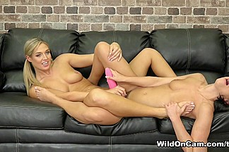 Adriana Chechik & Val Dodds in Tight and Tan Babes - WildOnCam
