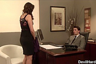 Samantha Ryan in Office Seductions #03, Scene #04 - SweetSinner