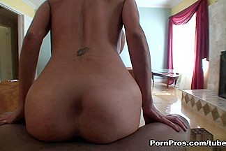Persia Pele in Busty Chocolate Cock Sucker - PornPros Video