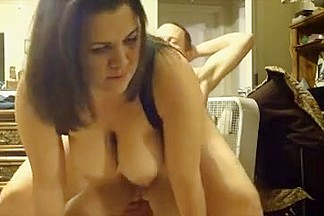 Non-Professional big tit wife suck n fuck cumpilation