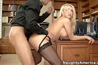 Kagney Linn Karter & Mikey Butders in Naughty Office