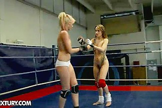 Nude Fight Club Presents: White Angel vs Leyla Black