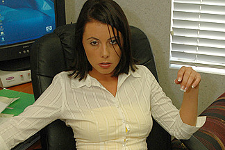 Penny Flame in Naughty Office