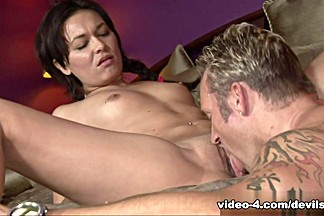 Amazing pornstar Crissy Moon in Crazy Small Tits, Brunette adult clip