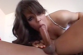 Horny pornstar Bobbi Starr in incredible anal, brunette adult movie