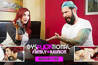 Amber Ivy in DysFUCKtional Family Reunion - Part 2 - BurningAngel