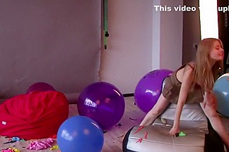 Sexy Vika and more balloon blow up