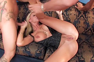 Incredible pornstars Charley Chase and Brooke Banner in amazing big tits, blowjob porn scene