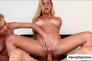 Cherie Deville and Dakota Skye threesome