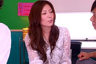 Yuna Shiina Panties Female Teacher