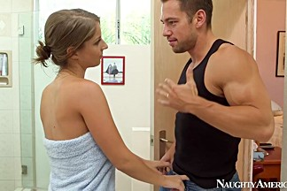 Presley Hart & Johnny Castle in My Wife Shot Friend