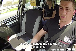 Czech Taxi - Blond  immature receives ride of her LIFE