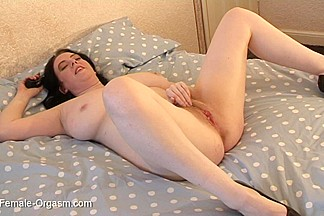 The Female Orgasm: Emily Cartwright Fingers to Remote