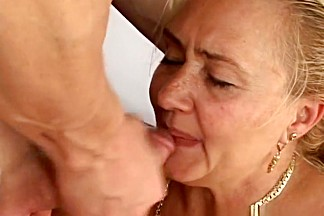 Fabulous pornstar Sharon Lane in hottest facial, mature sex movie