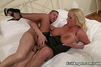 Sharon Pink & David Perry in The Tit Hunter Video