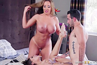 Cassidy Banks & Richelle Ryan & Jake Adams in Home Is Where The Whore Is - Brazzers