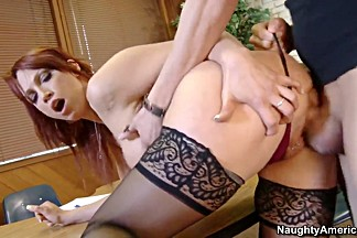 Nicki Hunter teaches her friend how to fuck