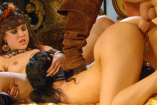 BellaDonna, Sasha Grey & Evan Stone  in Pirates 2, Scene 10