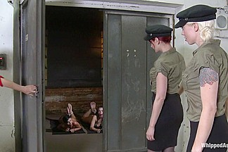 CLASSIC ARCHIVE SHOOT: Czech Whores in HELL: Military Debasement