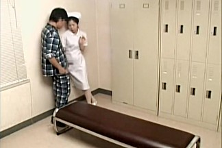 Demented patient screws a hot Asian naughty nurse hard