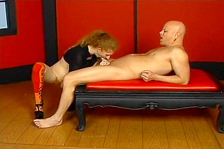 Cock Slapped Redhead Loves The Kinky Stuff