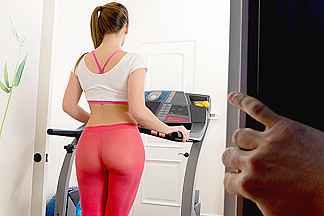 Abby Cross & Preston Parker  in Work Me Out